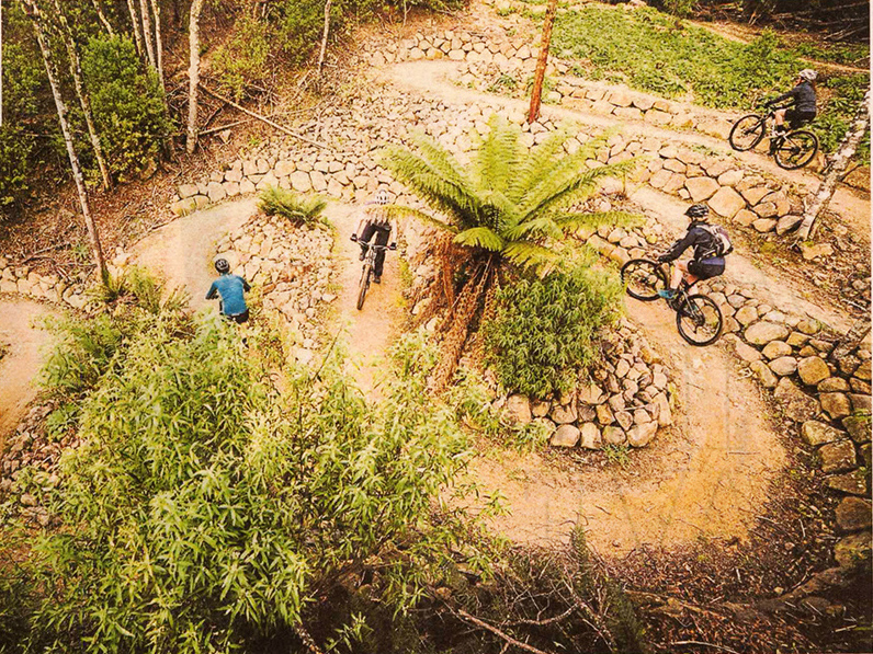 It's a great time to be a Tassie mountain biker!
